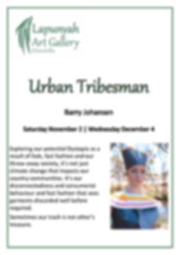 Barry Johansen Urban Tribesman Poster A4