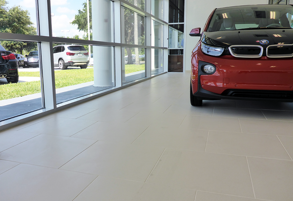 Lakeland BMW | Brownstone Hospitality | Tile Floor Installation
