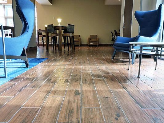Springhill Suites | Brownstone Hospitality | Tile Floor Installation