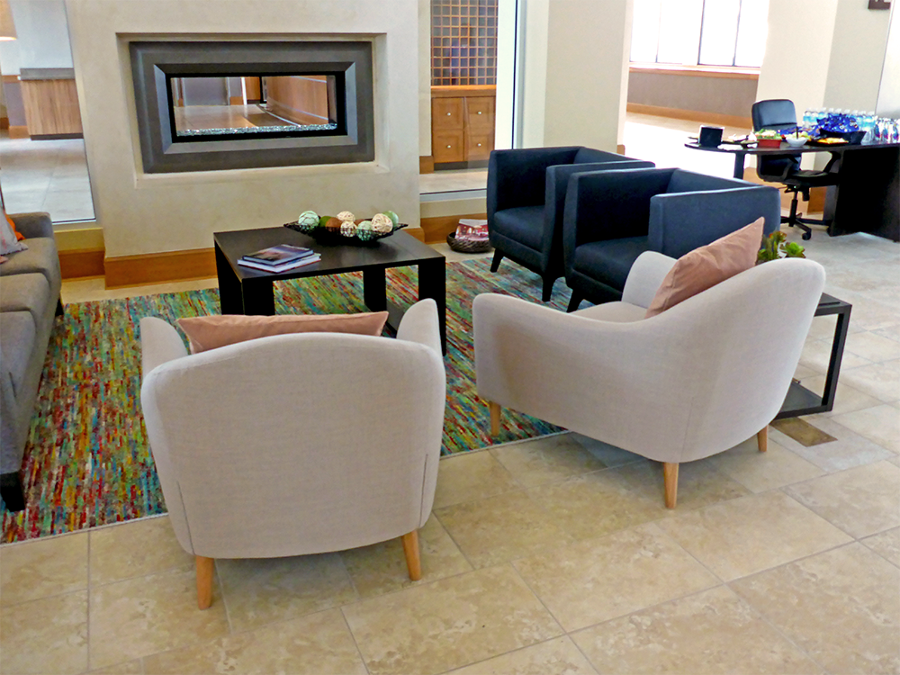 Regal Oaks Resort | Brownstone Hospitality | Carpet and Tile Floor Installation