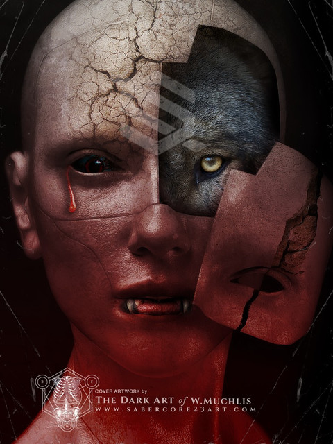 wolfVlampir by sabercore23