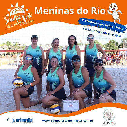 Time Meninas do Rio 2020