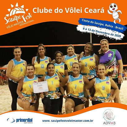 Time Clube do Volei Ceara 2020