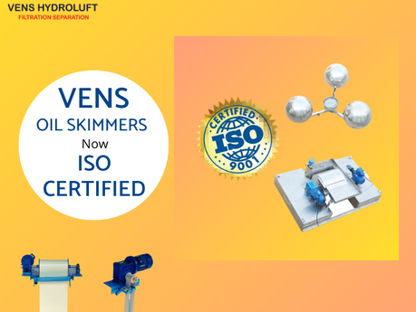 Vens Hydroluft - An ISO 9001:2015 Certified Company