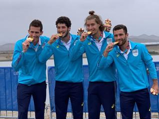 Del oro panamericano a los Juegos Olímpicos.