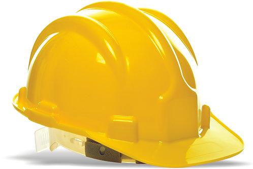 Capacete Proteção PLT amarelo