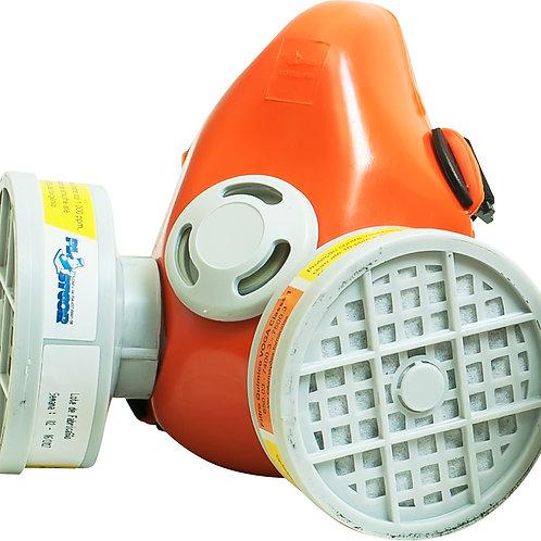 Respirador semi facial 2 filtros