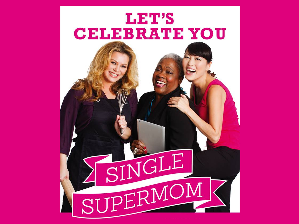 Kizzy at the Single Supermom event