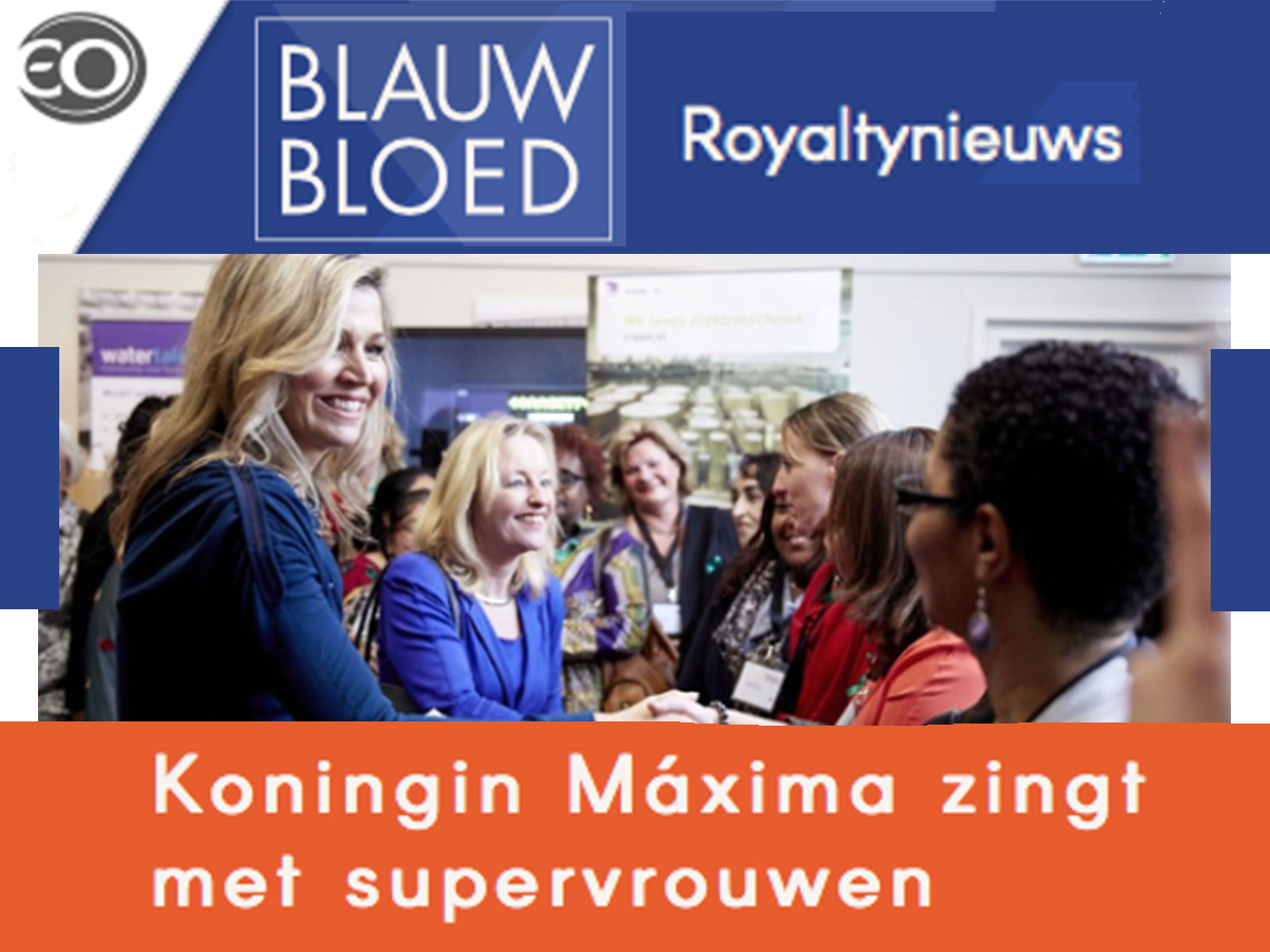 Kizzy on Royalty TV Show Blauw Bloed