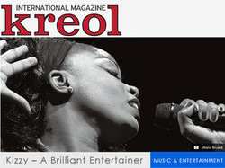 Kizzy in International Mag. Kreole