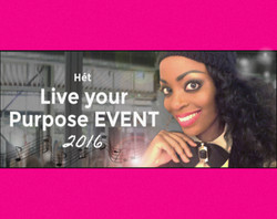 Kizzy at the Live Your Purpose Event