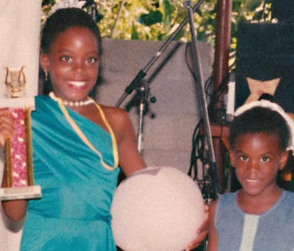 Little Kizzy wins the talent competition
