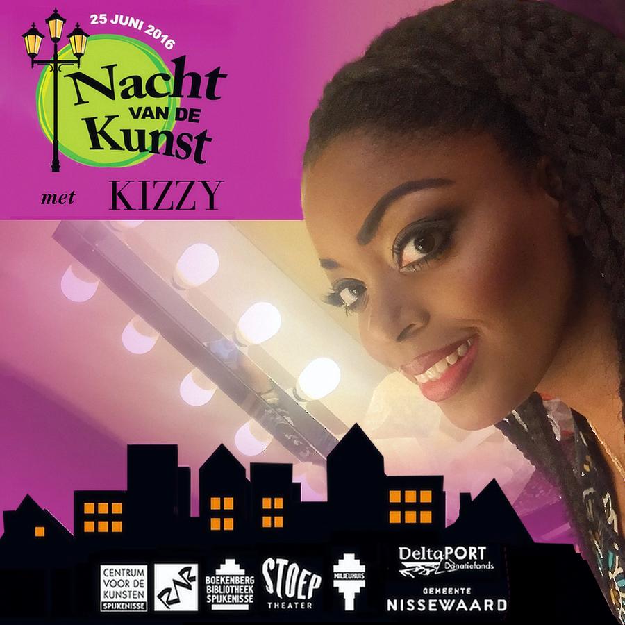 Kizzy in Nacht van de Kunst festival