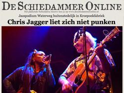 Kizzy featured in 'De Schiedammer'
