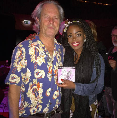 Kizzy with Chris Jagger