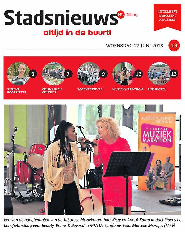 Kizzy, singer, songwriter, dutch, zangeres, presentatrice, tv host, tv presenter, poet, dichter, spreker, public speaker, anouk kamp, tilburg, tilburgse muziekmarathon,