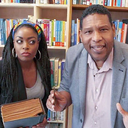 Kizzy presented TV shows with comedian Quintis Ristie