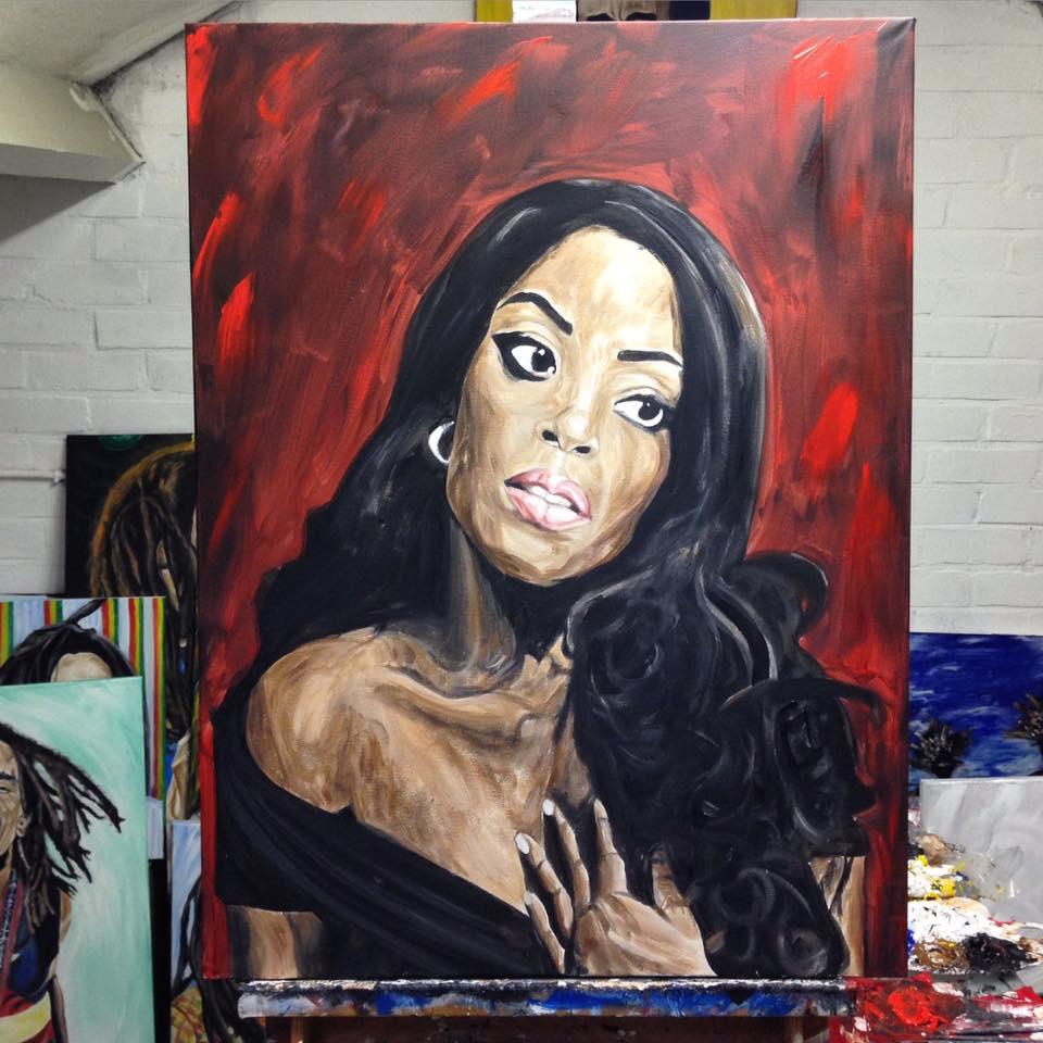 Kizzy in Portrait