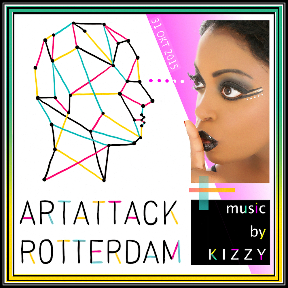 Kizzy at ArtAttack Rotterdam (video)