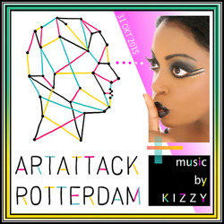 Kizzy at ArtAttack Rotterdam (video)