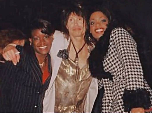 Kizzy snag with Steven Tyler