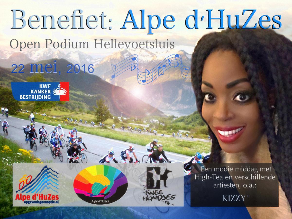 Kizzy in Alpe d'HuZes Charity Show