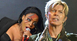 Kizzy in the David Bowie TV Show
