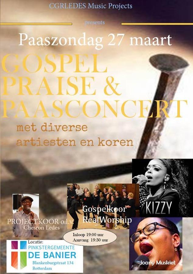 Kizzy at the Eastern Gospel Concert
