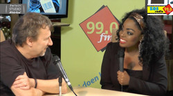 Kizzy's TV & Radio interview (video)