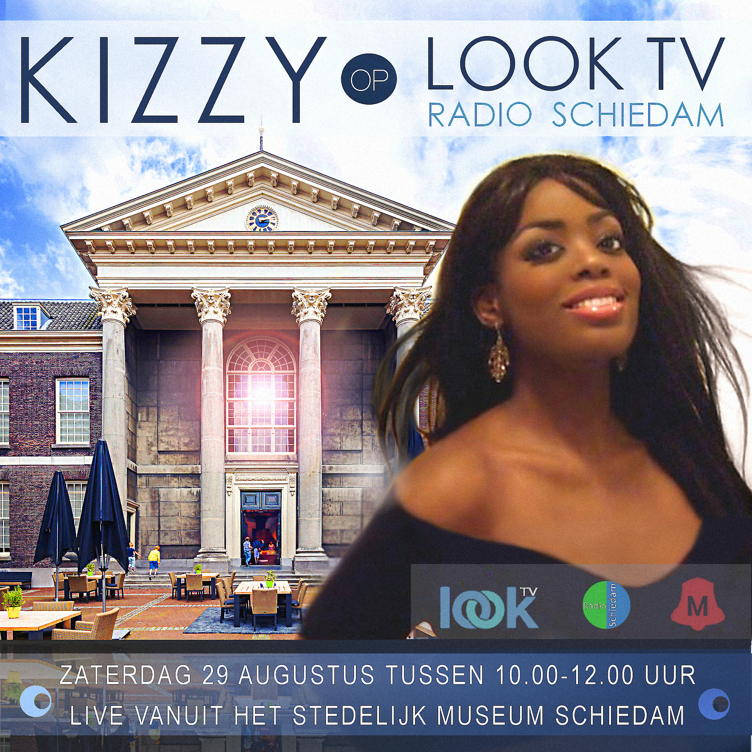 Kizzy on LookTV & Radio Schiedam
