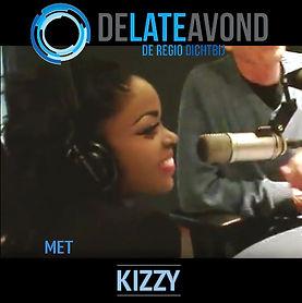 Kizzy op Radio de Late Avond