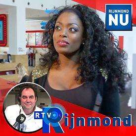 Kizzy op Radio Rijnmond met Ruud de Boer