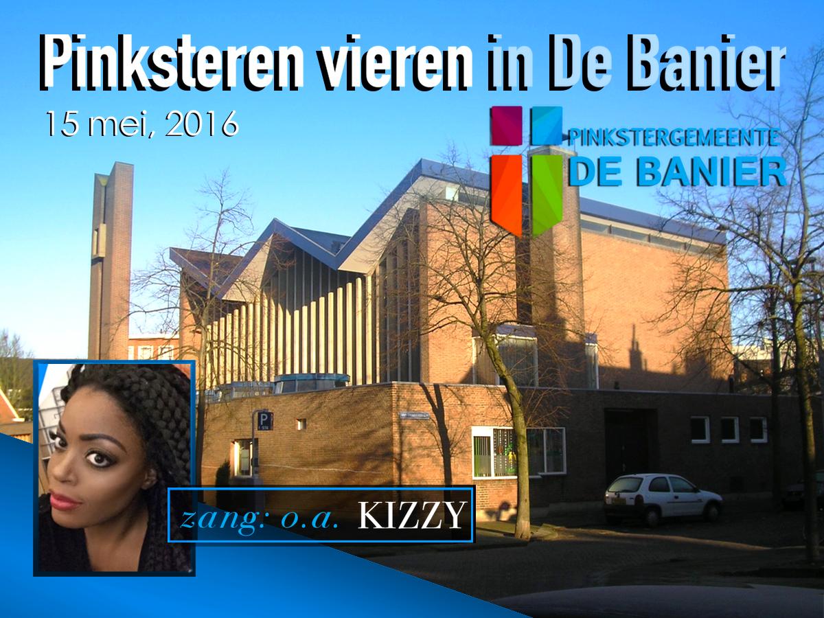 Kizzy at de Banier