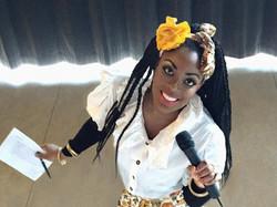 Kizzy Hosts Show for Ghana's Orphans
