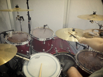 A drummer's eye view