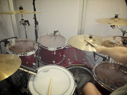 A drummer's eye view