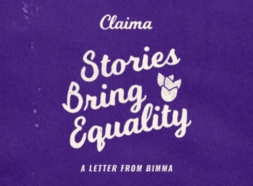 Claima 'Stories Bring Equality' Campaign