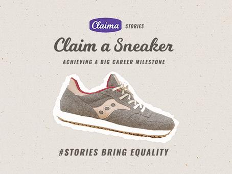 Claim a Sneaker: Achieving a Big Career Milestone [WATCH]