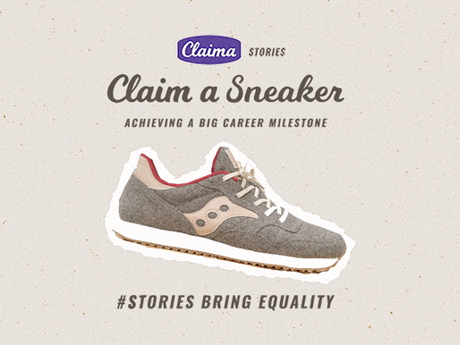 Claim a Sneaker: Achieving a Big Career Milestone [WATCH]