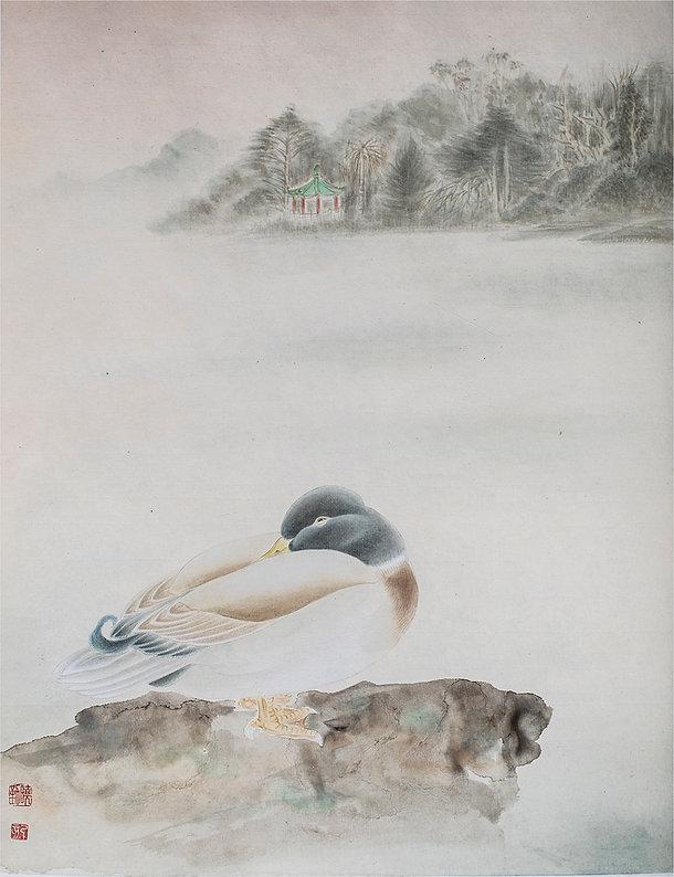Huang, Janny - Dawn at Stow Lake.jpg