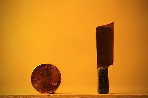 Copper Butchers Knife