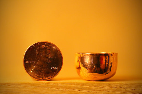 Miniature Copper Bowl