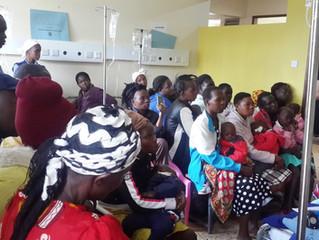 Voorlichtingsprogramma voor ouders van kinderen met kanker in Kenia