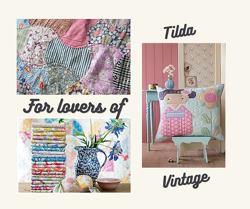 For lovers of Tilda and Vintage - Wednesday 24/FEB/2021