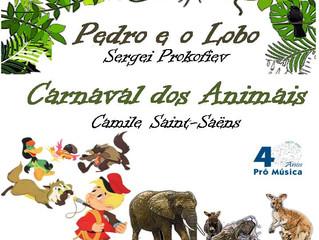 Pedro e o Lobo - Carnaval do Animais
