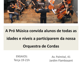 Orquestra de Cordas Pró Música