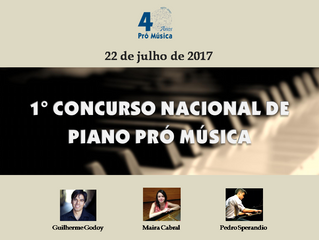 1° Concurso Nacional de Piano