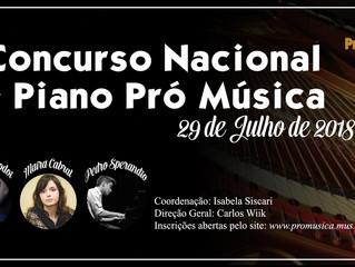 II Concurso Nacional de Piano Pró Música