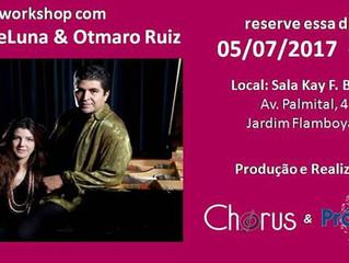 Workshop Catina DeLuna e Otmaro Ruiz