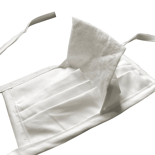 Priority Healthcare (1) Cloth Face Mask with (10) Disposable Filters Set